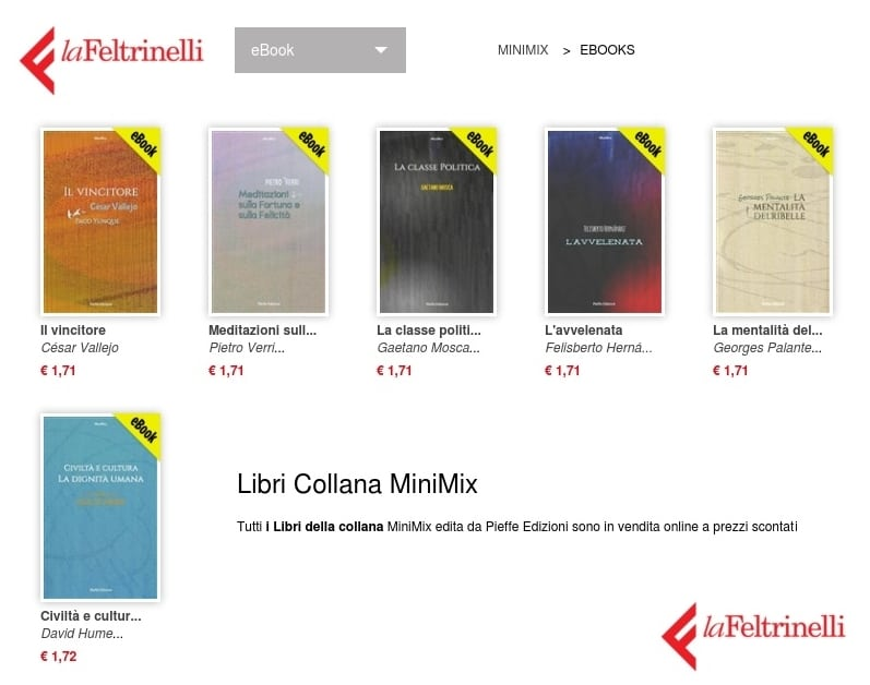Collana ebook MiniMix