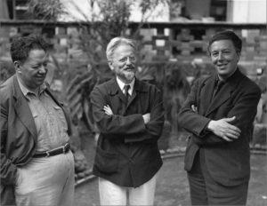 Diego Rivera, Leon Trotsky e André Breton