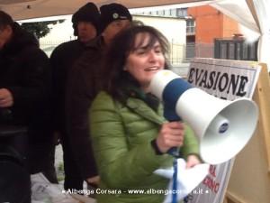 Genova Marassi - Lega Nord No Svuota Carceri 18-1-2014