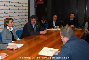 Savona conferenza difesa del suolo 23-1-2014
