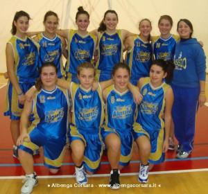Basket Alassio Under 17 femminile 2014