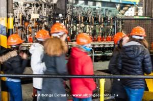 Fabbriche Aperte studenti alla Saint Gobain Vetri di Carcare 18-2-2014