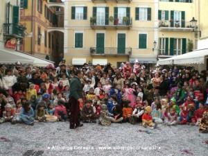 Loano Carnevale bambini in piazza2