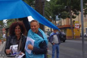 Referendum Acqua pubblica flash mob Albenga 23-4-2011  11