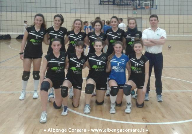 Centro Scuola Volley Eco-Private Albenga U16 femminile