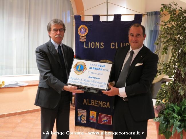 Neirotti Lions Ospedale Albenga