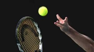 Tennis mano pallina racchetta xG00