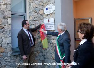 6 Villanova d'Albenga - intitolazioni ad Andrea Schivo e Nelson Mandela
