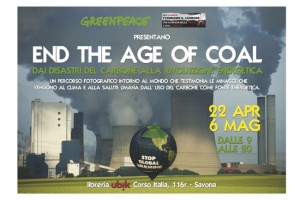 Greenpeace End Age of Coal Savona