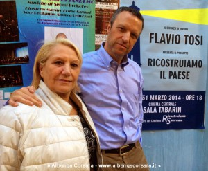 Rosy Guarnieri e Flavio Tosi