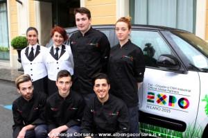 Team cooking Alassio