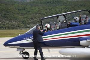 1 - Air Show Loano 2014 arrivo pattuglia Villanova d'Albenga