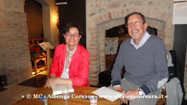 1 Sandra Berriolo e Mario Moscardini - Museo Sommariva Albenga 3-5-2014