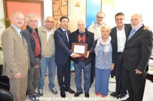 Andora riconoscimento a Sergio Torrengo