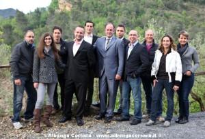 Andrea Delfino e lista Cambiamo insieme Ortovero