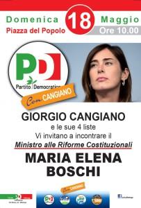 Boschi per Cangiano Albenga 18-5-2014