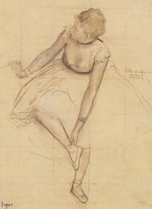 Degas disegno ball1