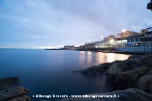Genova vista mare
