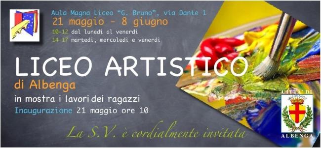 Mostra Liceo Artistico Albenga