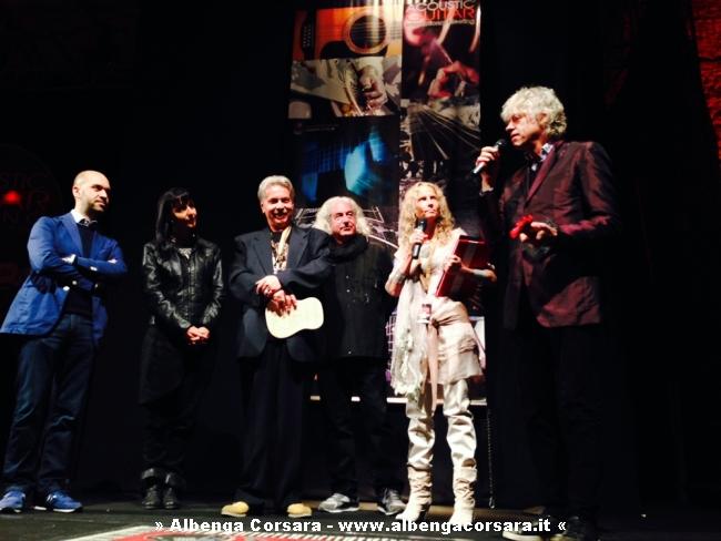 Premiazione Bob Geldof Sarzana 29 maggio 2014