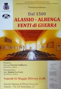 SOMS Alassio Albenga Venti di guerra