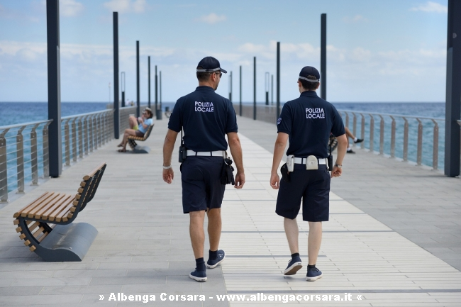 Alassio Polizia Sul Molo