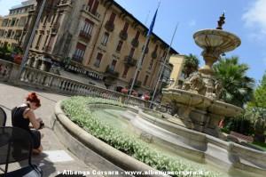 Alassio Fotografia piazza