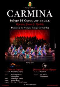 Carmina locandina