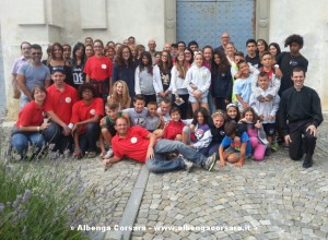 Gruppo campo parrocchiale agosto 2014