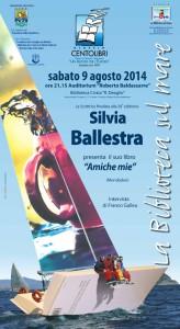 Locandina Silvia Ballestra