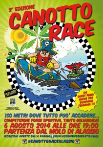 canotto race_locandina