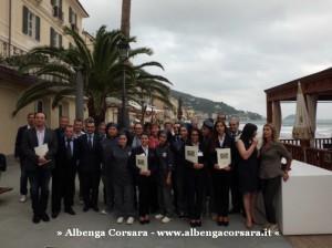 1 - Assessore Berlangieri al Grand Hotel di Alassio con i presidi degli Istituti Alberghieri 1
