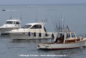 Pesca alla traina imbarcazioni