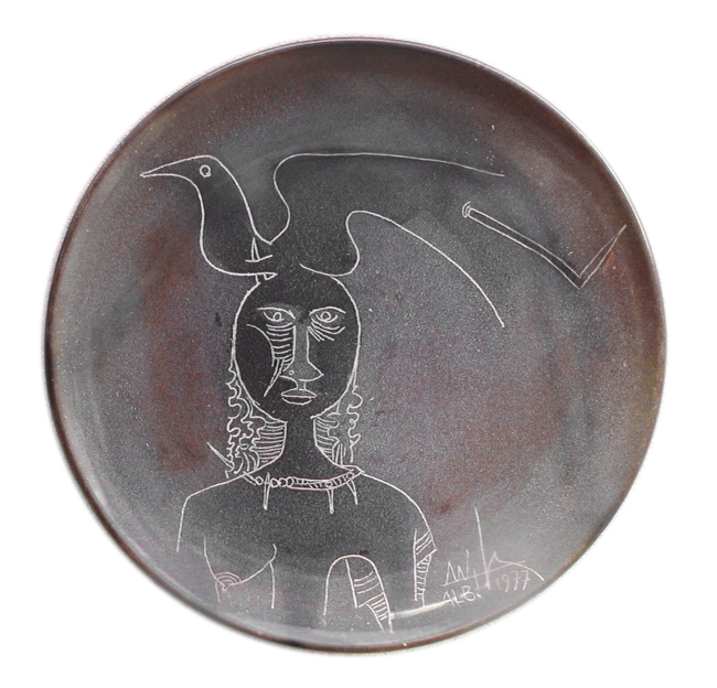 Al priamar di savona il cenacolo degli artisti albisola for Libro in ceramica
