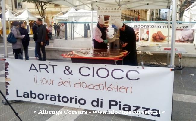 6 - Inaugurazione Art & Ciocc cuore cioccolato 5