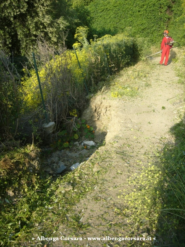 1 – Via Iulia Augusta pulizia