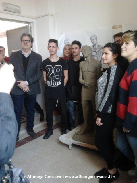 3 Liceo G. Bruno Statua s. Sebastiano