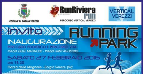 Running Park-invito