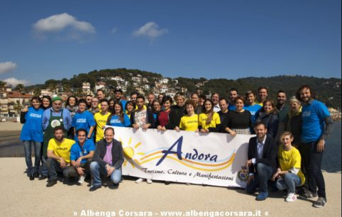 ANDORA GRUPPO partecipanti A MEZZOGIORNO IN FAMIGLIA