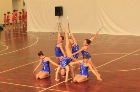 FOTO ARCHIVIO Twirling Voltri-MeleTeam junior C