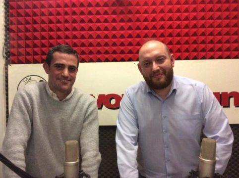 Tommaso Tortarolo e Guido Lugani