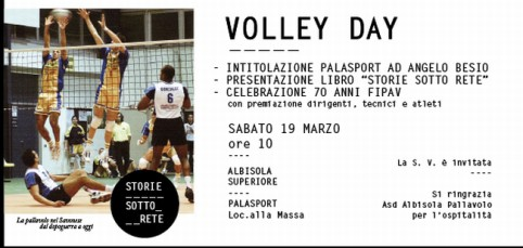 Volley day nvito