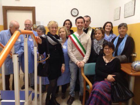 1 - Inaugurata nuova palestra fisioterapica Residenza Protetta Ramella