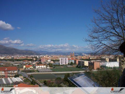 Albenga xAC - San Calocero visitatori e vista 2