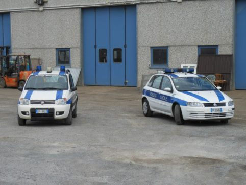 Auto Polizia Locale Al