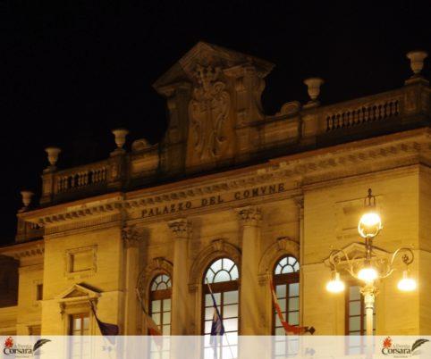 Savona xAC - Palazzo Comune Notturno 1