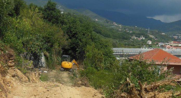 Loano, iniziati i lavori di realizzazione della bretella stradale in località Meceti