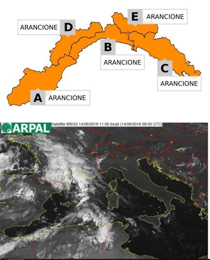 Maltempo: allerta arancione, molte scuole chiuse in Liguria