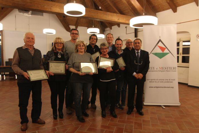 Andora gruppo artigiani premiati for Rivista casalinga per artigiani