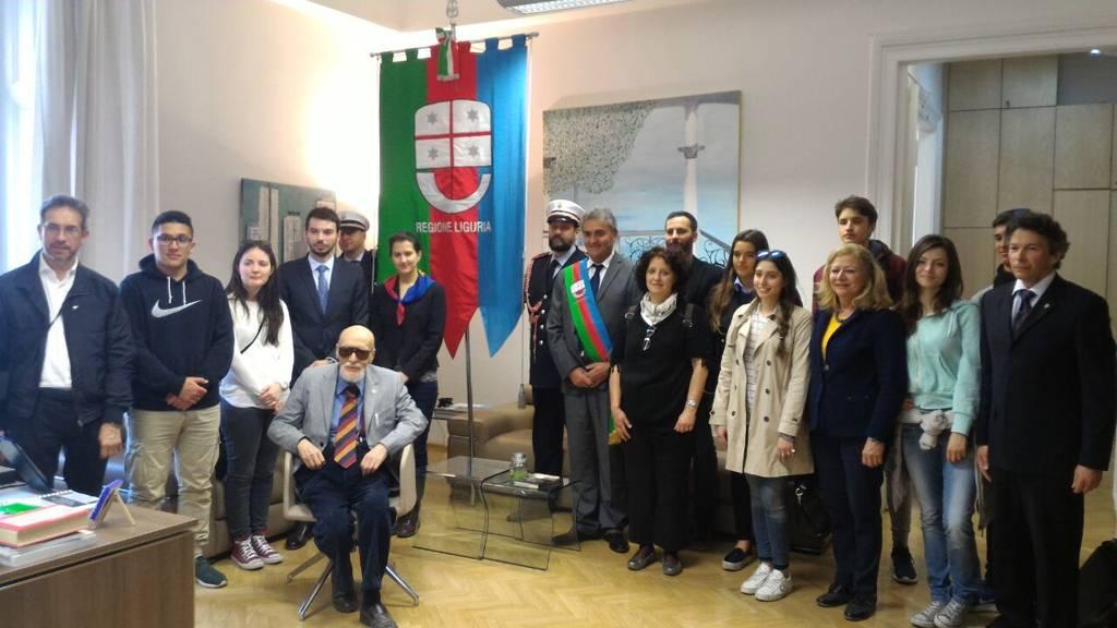 Fiume – Incontro console studenti Liguria